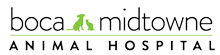Boca Midtowne Animal Hospital Logo